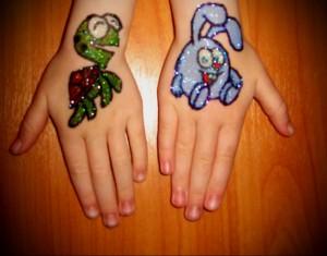 Временные татуировки 5