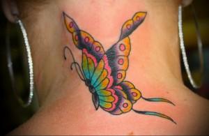 Значение татуировки бабочка  4
