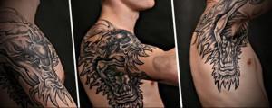 Значение татуировки дракон 4