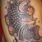 Значение татуировки карп 4