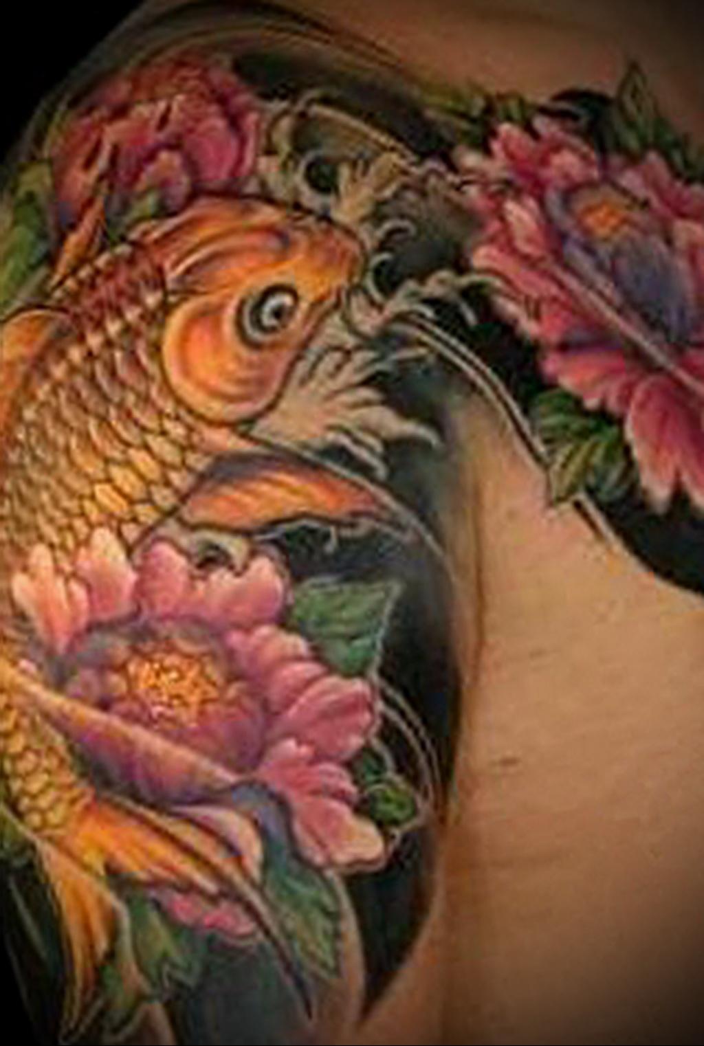 Значение татуировки карп 8