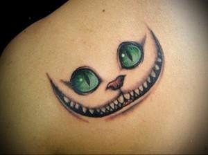 Значение татуировки кошка 1