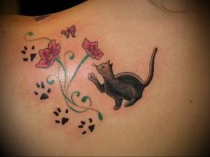 Значение татуировки кошка 2