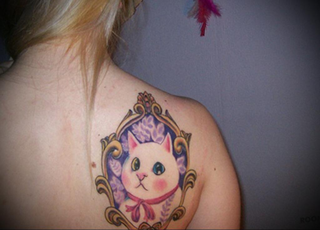 Значение татуировки кошка 3