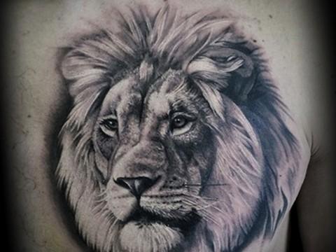 Значение татуировки лев 1