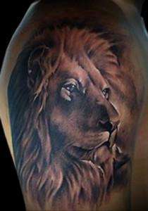 Значение татуировки лев 4