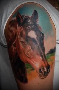 Значение татуировки лошадь 9