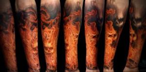 Значение татуировки огонь 4