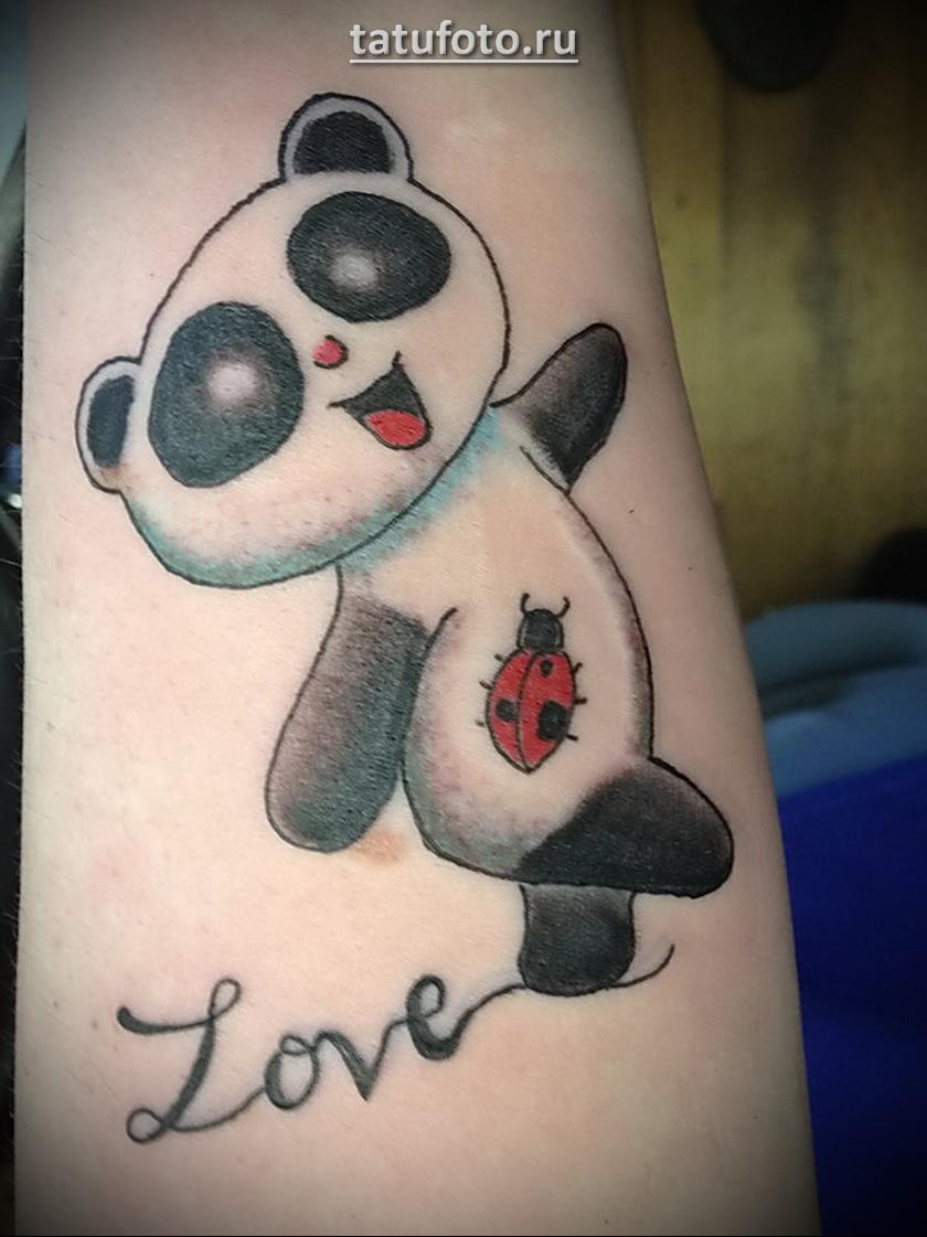 Значение татуировки панда примеры фото 1