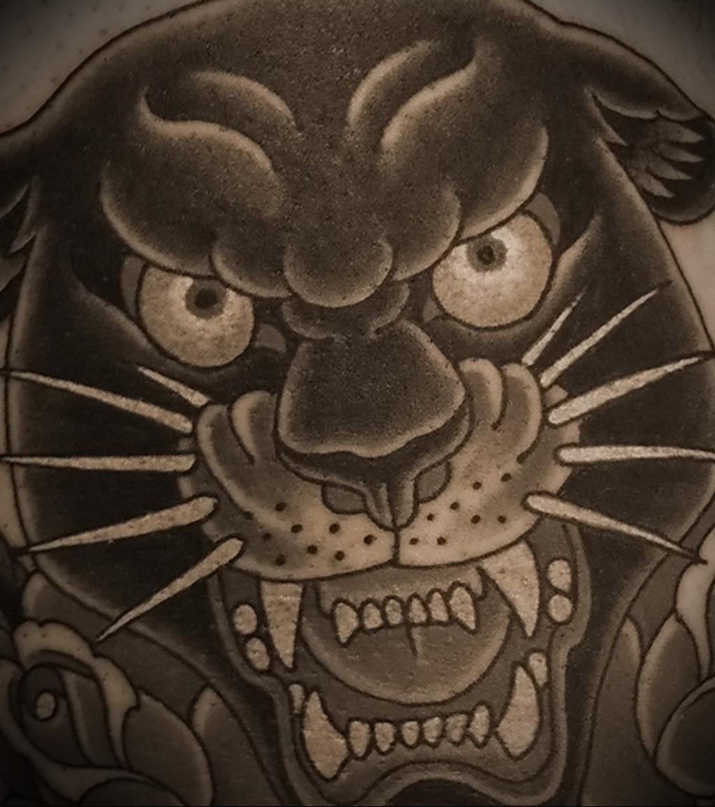 Значение татуировки пантера 10