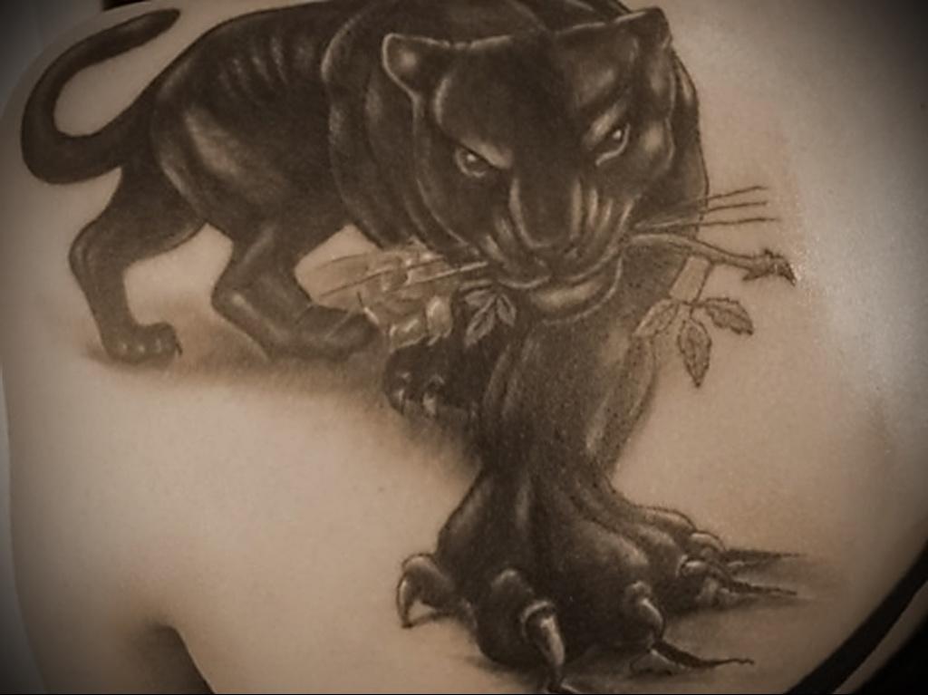 Значение татуировки пантера 5