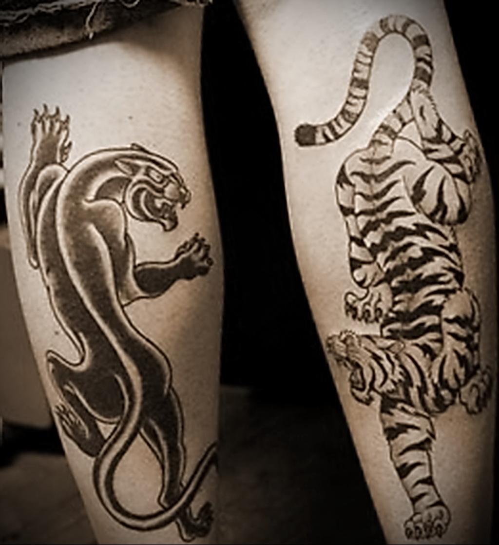 Значение татуировки пантера 7
