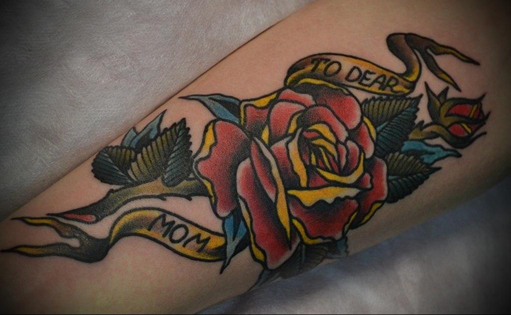 Значение татуировки роза 1