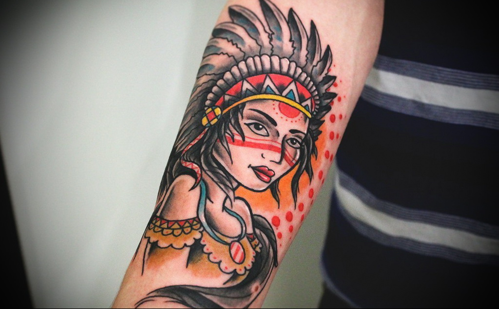 Значение татуировки с изображением девушки 1