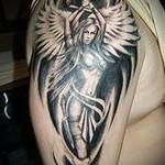 ангел воин тату 4