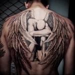 ангел воин тату 5