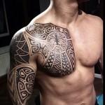 маори узоры на грудь и руку - ТАТУИРОВКИ НА ГРУДИ ДЛЯ МУЖЧИН