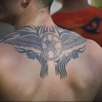 необычная татуировка на спине мужская