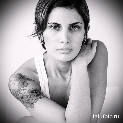 Stylish Shoulder Tattoo Designs For Women