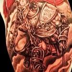 римский воин тату 2