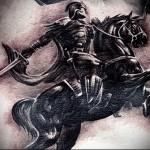римский воин тату 3