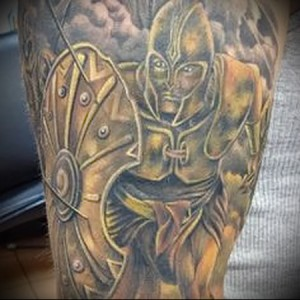 римский воин тату 5