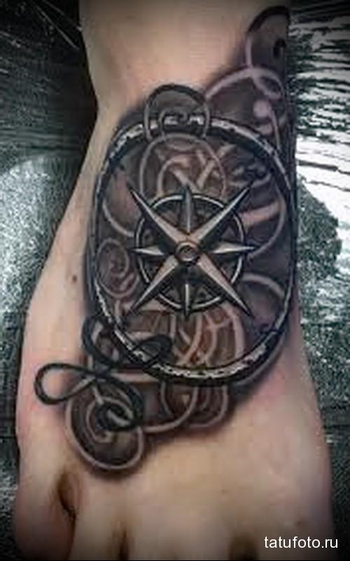 Мужские татуировки морские фото что это