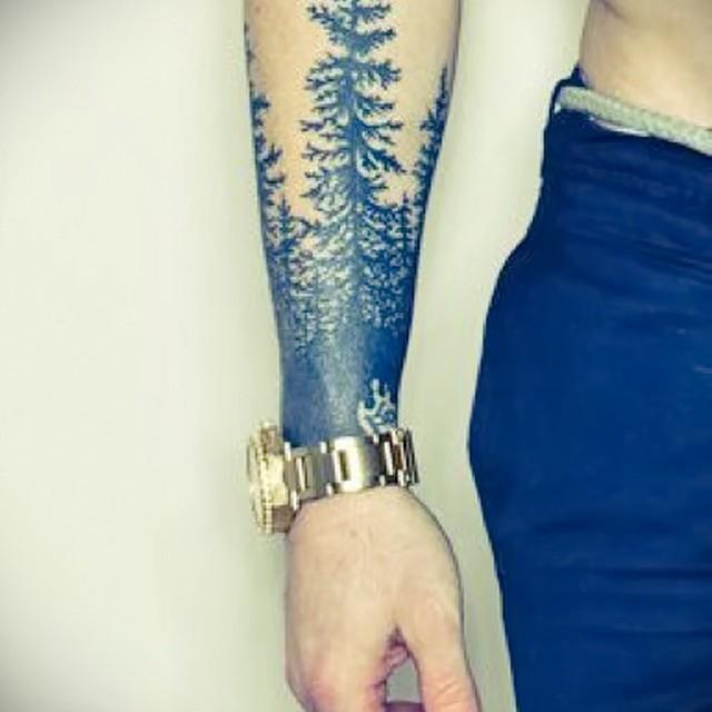 Мужские татуировки на запястье своими руками