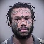 татуировка крест на лбу