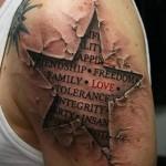 татуировки на руках 3d