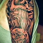 тату воинов викингов