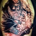 тату воинов викингов 2