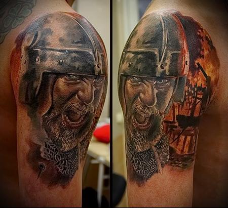 тату-воинов-викингов-3