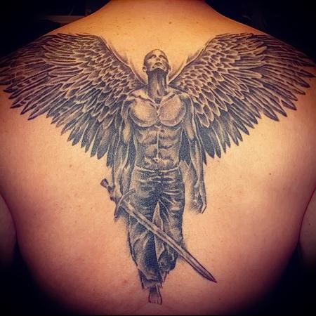 Татуировки ангелов, тату ангелов VK