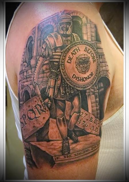 Татуировки древних воинов фото