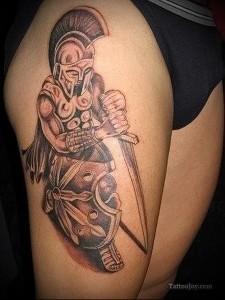 тату древних воинов 4