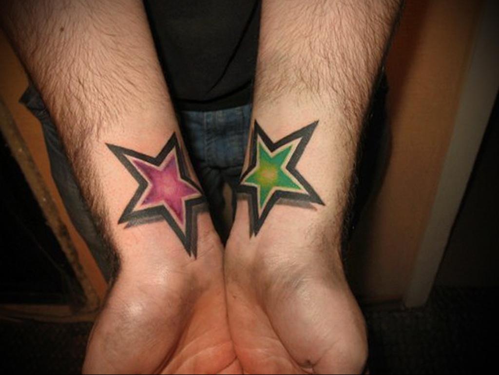 Значение тату со звездой