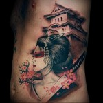 Best Japanese Geisha Tattoo