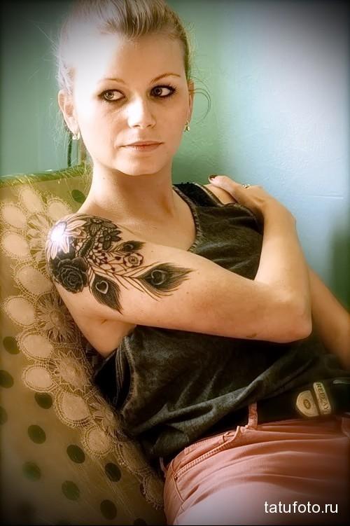 павлин тату значение для женщин