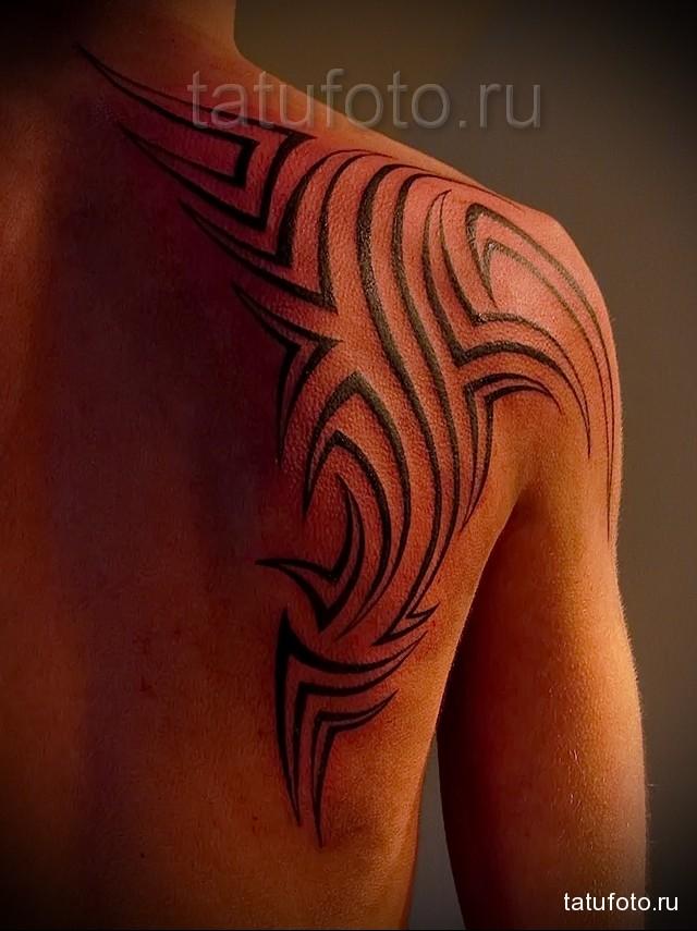 Татуировки на лопатке фото Тату на лопатке