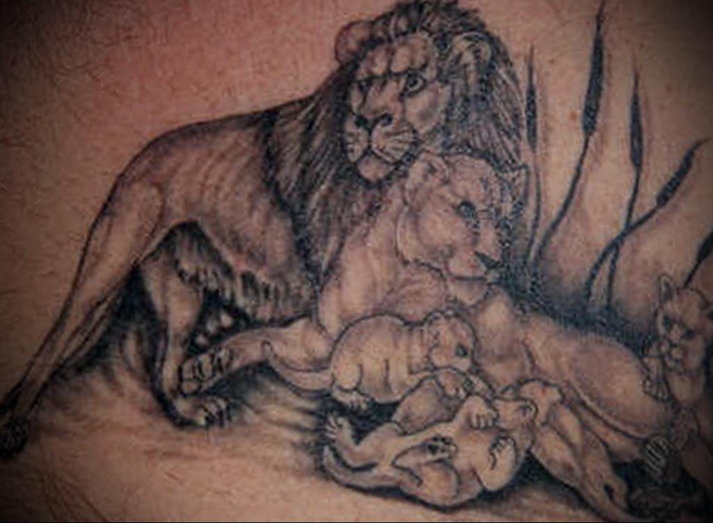 Значение татуировки лев 2