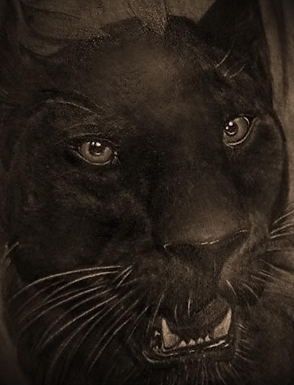 Значение татуировки пантера 4