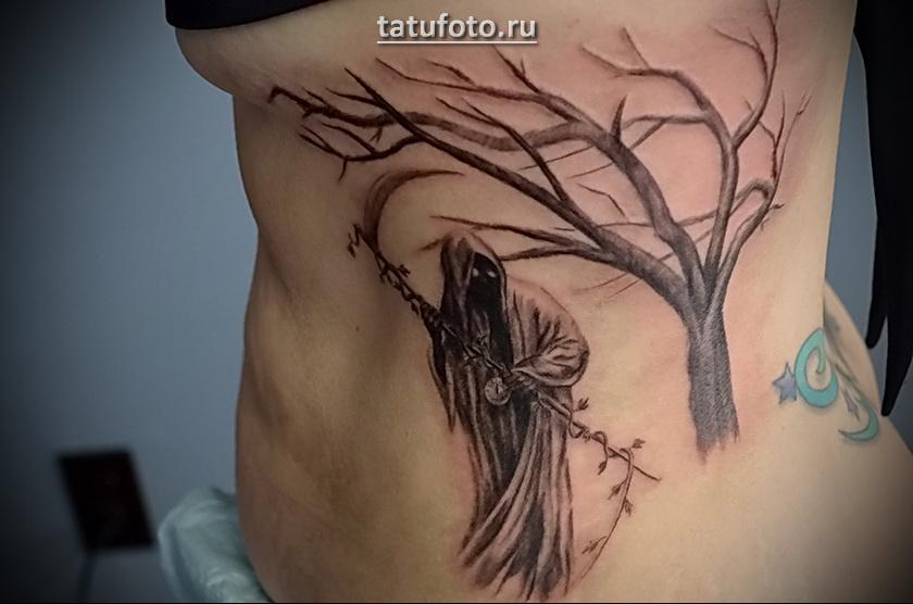 Значение татуировки смерть с косой 1