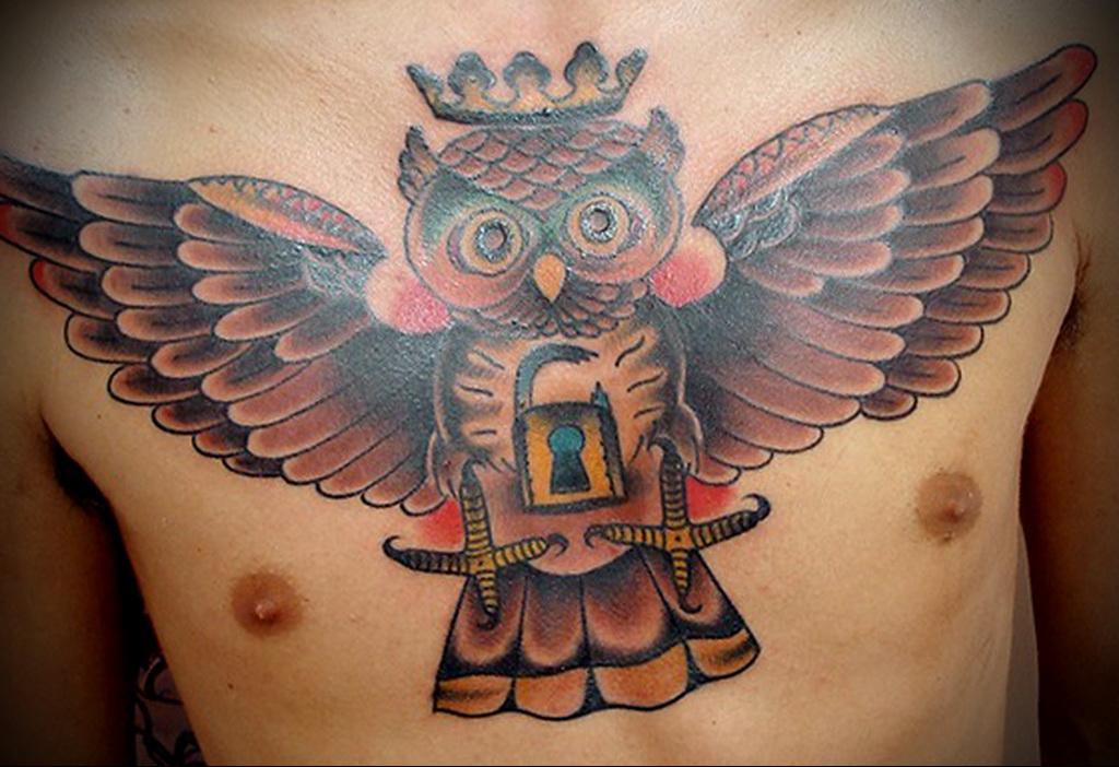 Значение татуировки сова 3