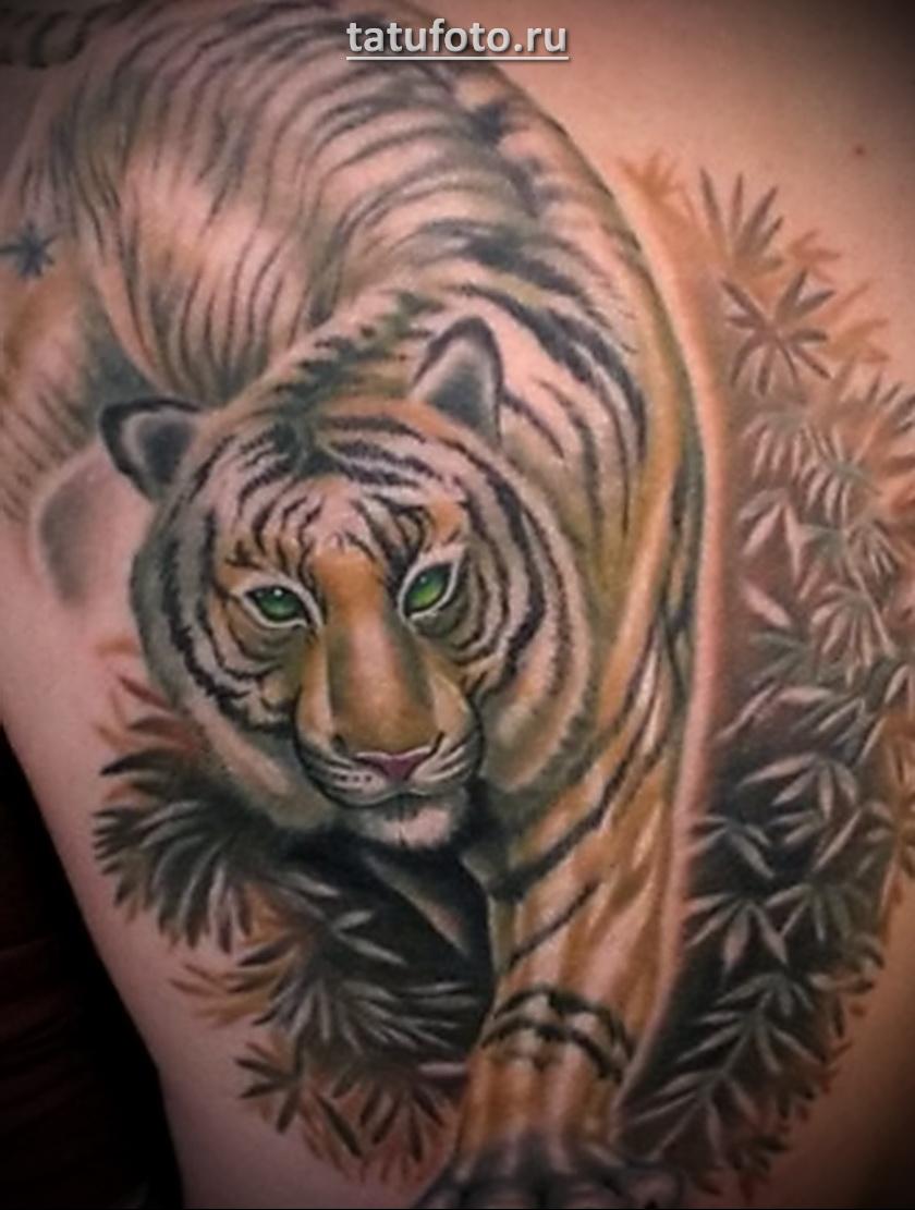 Значение татуировки тигр 3