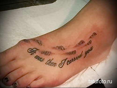 женская татуировка на стопе фото 19