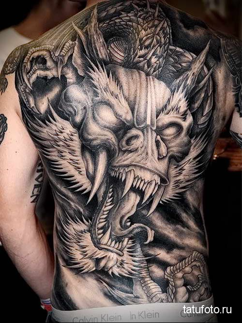 Back tattoos for Guys - The perfect Muscular Area for tattoo Art