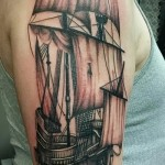 tattoo pirate ship