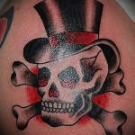 tattoo skull hat