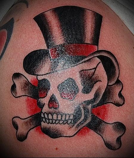 tattoo skull hat